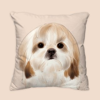 [I will love you forever] Classic Shih Tzu pillow animal pillow / pillow / cushion