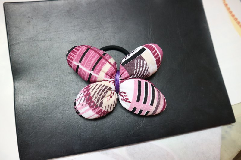 Q Cotton Butterfly Hair Tie Hair Ring*SK*