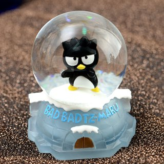 Cool Penguin XO Ice House Crystal Ball Decoration