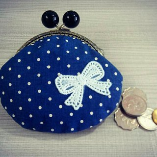 【MY。手作】Metal frame coin purse, kiss lock, cosmetic bag, gift