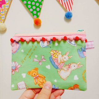 Bear Bunny Handmade Coin Purse Ticket Card Pack Small Bag