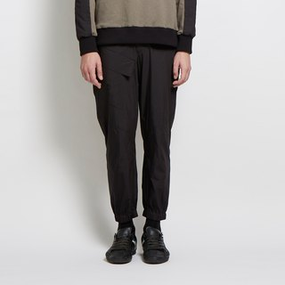 Follow me - half-legged casual pants - black