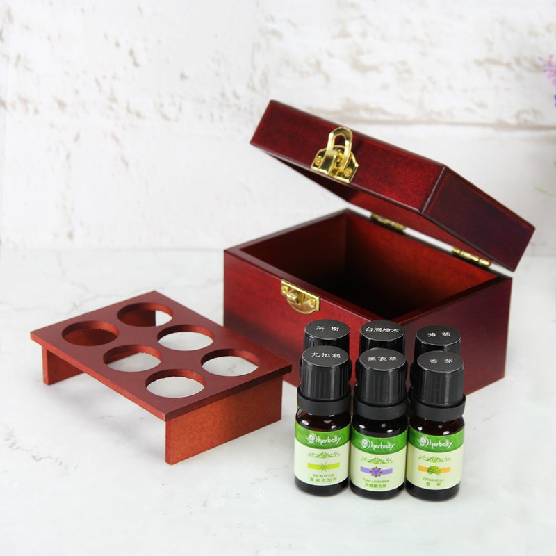 [Herbal Truth] six grid box single essential oil group (10mlX6)