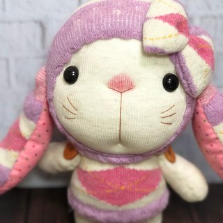 Lop-ear Mimi 01 sock doll / current product supply / Marting hand-made