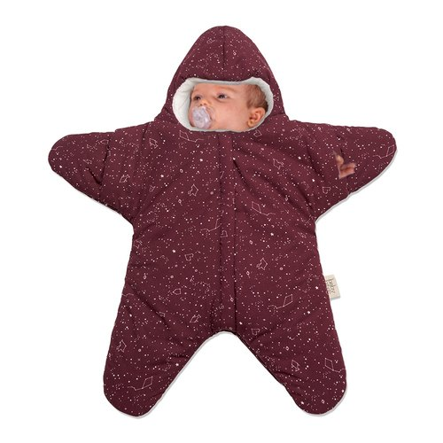 [Made in Spain] (Standard Edition) Shark bite a BabyBites 100% cotton hand-made sleeping bag |