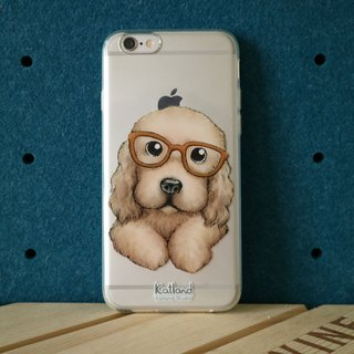 Home Design - Dog Holder Cocker Span Case Phone Case D09_0