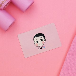 キキ Conveniently super pink snack area / leisure card sticker (two sets)