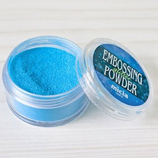 Convex pearl powder - blue