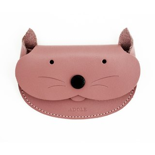 【ADOLE】 kitten leather purse