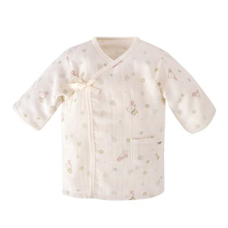 【SISSO organic cotton】 give you a small flower gauze coat 3M