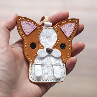 Sincere Chihuahua handmade leather strap