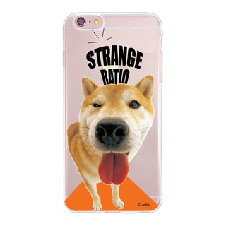 The Dog Big Dog Authorized - TPU Case, AJ09