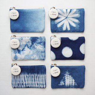 S.A x Coin Purse Credit Card Holder, Spring/ Macaron/ Ocean/ Sky/ Straw/ Iceberg