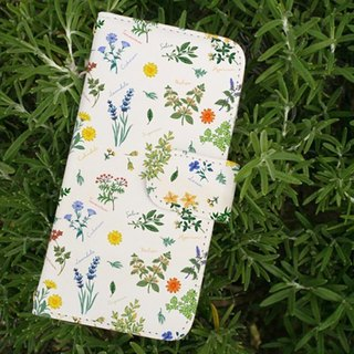 【All models supported】 Free shipping 【notebook type】 Botanical pattern smart case