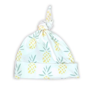 [Deux Filles organic cotton] pineapple pattern with baby cap