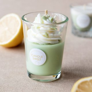 Dessert Candle - Vital Pistachio - 120ml Pistachio Smoothie - Essential Oil Candle