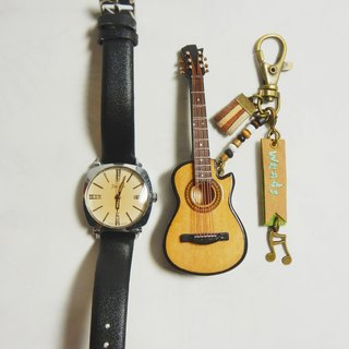 [Neck guitar] mini guitar texture mini model charm packaging accessories custom