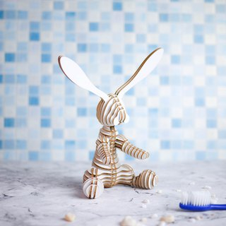 ONE Rabbit /3D Handmade DIY/Home Decoration /White