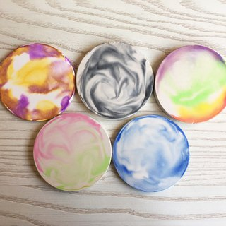 Benefit mold 珪 soil homemade coaster irrigation silicone mold (with coaster mold * 2) natural non-toxic healing gift