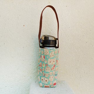 Owl illustration kettle bag / beverage bag