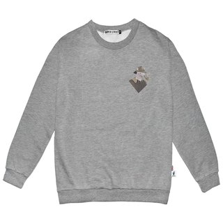 British Fashion Brand -Baker Street- Little Stamp:Sherlock   Printed Sweater