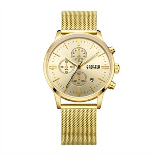BAOGELA - STELVIO Gold Dial / Milan Watch Adjustable Watch