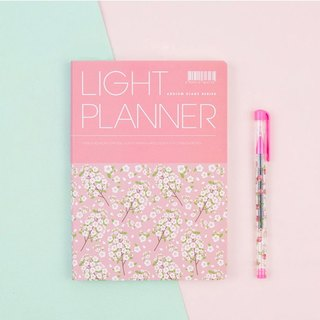 2018 ARDIUM LIGHT PLANNER Calendar / Account - pink and sakura