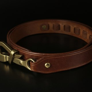 HEYOU Handmade - Sailor Belt sailor leather belt (coffee)