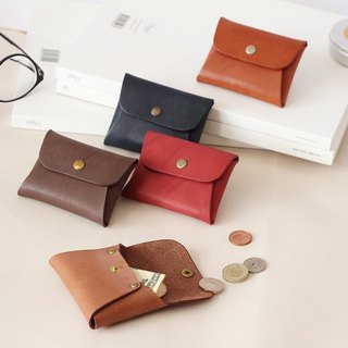 Shika Xika Leather - One-piece coin purse / cowhide can be used to deposit banknotes