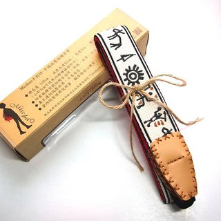 [Missbao Hands Square] Taiwan aborigines Sew camera strap decompression