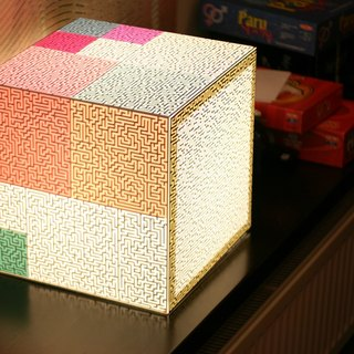 You Only Way Light Cube Lamp by UNIQCUBE