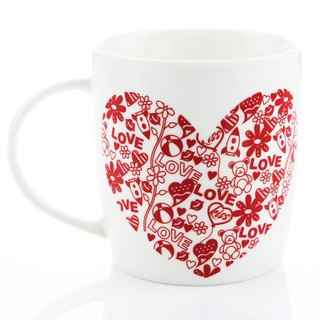 Engels Co. For Lovers' Only Valentine's Mug-3