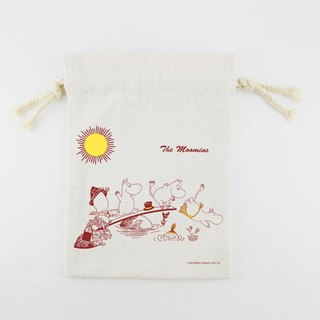 Moomin Moomin authorization - Pouch (Large): [] The moomins