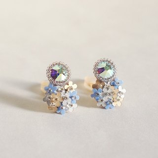 "Earrings ""bijoux&bouquet blue"""
