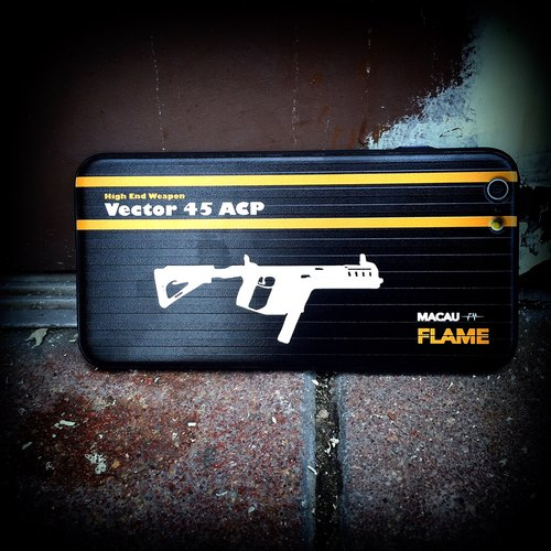 "Flame ""Vector 45 ACP"" Phone Case"