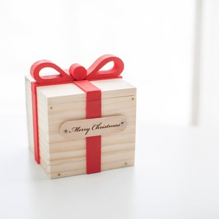 Customized Chinese Valentine's Day birthday gift log hand gift box - custom name lettering small