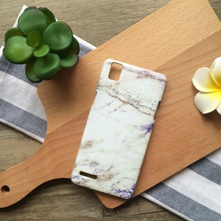 Purple and brown marble texture. Matte Case (iPhone, HTC, Samsung, Sony)