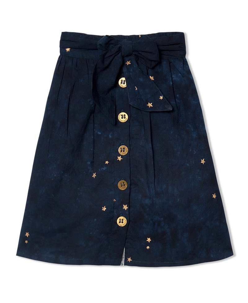 CHANDAMAMA Siya Navy Blue Skirt
