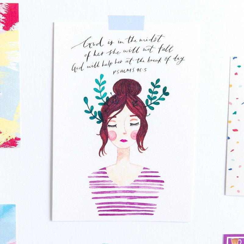 BLOOM Lady #2:阿比蓋爾/明信片