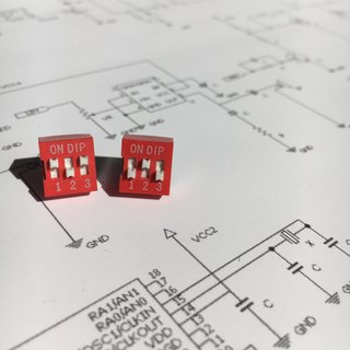 【電子零件】DIP Switch Earrings【Electronic parts】