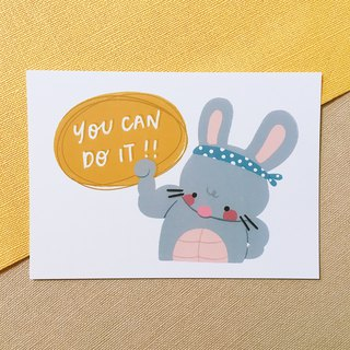 You Can Do It - Squeaky 明信片