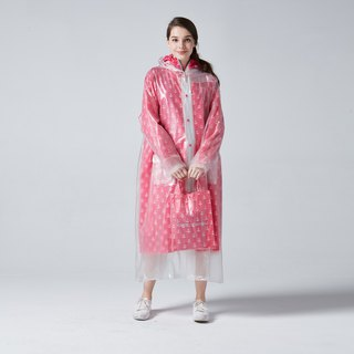 BAOGANI Double Raincoat - Anchor (Pink)