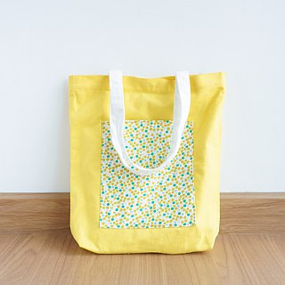 Keb Reab Canvas Tote Bag - Summer Yellow