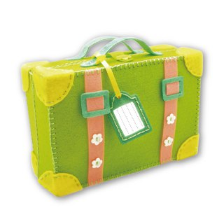 Fairy Land [material kit] go travel suitcase together - green