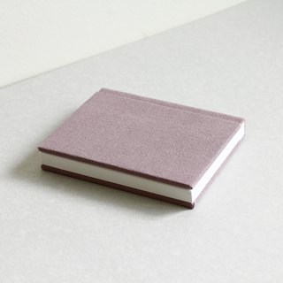 Small Size Sewn Board Bound Notebook – Dark Rose