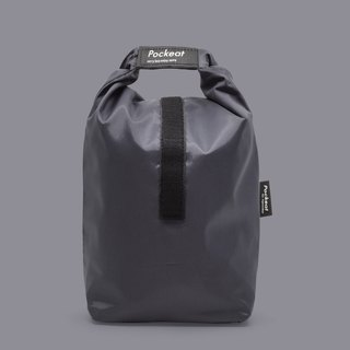 Good day | Pockeat green food bag (large food bag) - shutdown black