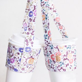 Little Fun Day | See a Cup of Flowers. Midsummer Night's Dream Floral. Handmade. Fresh Violet