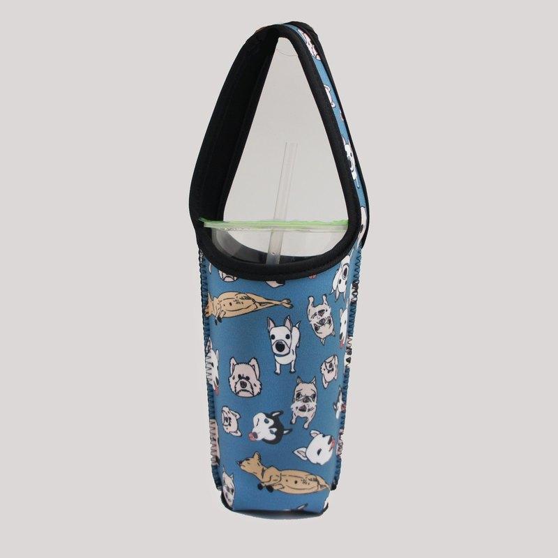 BLR 環保 飲料提袋 張寧 聯名款 Ti 13 狗狗