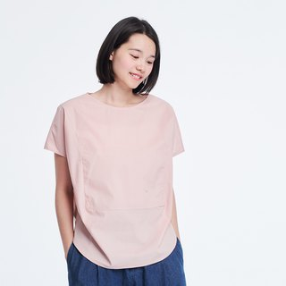 Debbie Simple Square Shaped Top Pink