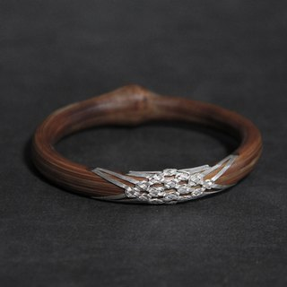 Sixteen treasure old wind vine bracelets from time to time original handmade wild 995 sterling silver medicine vine wooden bracelet children homemade